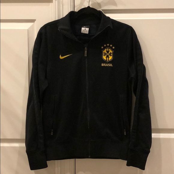 d5391b8f7 Vintage new Nike Brazil Brasil soccer CBF jacket